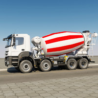 Mercedes-Benz Axor mixer